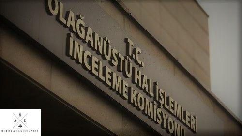 ohal komisyonu kararına itiraz | idari dava avukatı | ankara avukat